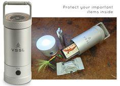 VSSL Mini LED Lantern + Cache by Todd Weimer — Kickstarter