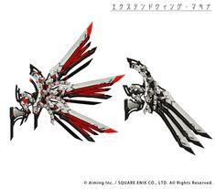 ゲシュタルト・オーディンの武器デザイン画公開その3ヒーラーセット!※一部のデザインが調整、変更されている可能性があるよpic.twitter.com/2QNYsLiUO0 Robot Concept Art, Armor Concept, Weapon Concept Art, Anime Weapons, Fantasy Weapons, Batman Armor, Futuristic Armour, Sword Design, Wings Design