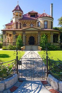 San Antonio's King William Historic District, a beautiful collection of restored homes dating back to the 1800's.