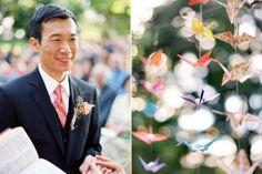 groom-style-paper-origami-birds-ceremony-reception-decor