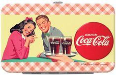 Keep your credit cards and id in one place with our new Coca-Cola Credit Card/ID Holders. Our credit card/id holder has a slot for your ID, 4 credit cards and closes securely to keep your belongings from falling out. Select one of these fun Coca-Cola designs as a special gift.