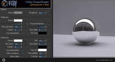 Faire un VRay Shader de verre est un tuto pour apprendre à faire un shader de verre réaliste avec VRay. Reflection et refraction sont les clés de ce shader