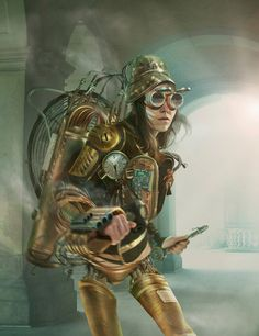 Steampunk by illugraphyjpg in Showcase Of Incredible Steampunk Artworks