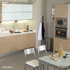 Cocinas: Conjuga modas y tendencias para obtener la cocina que deseas, rústica, minimalista, clásica. Escoge mobiliario que aguante el ritmo de los cocineros más exigentes.  http://madeandin.com/cocinas.html