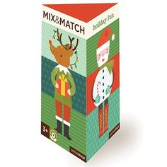 Petit Collage Holiday Fun Mix & Match Card Puzzle Game for Kids 3 and up Christmas Mix, Christmas Themes, Christmas Holidays, Christmas Cards, Unique Gifts For Kids, Kids Gifts, Fun Gifts, Baby Gifts, Puzzle Games For Kids