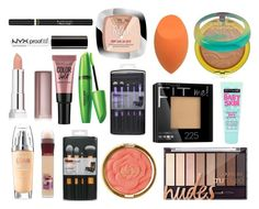 """""""Favourites Drugstore Makeup Products"""" by lulaazc on Polyvore featuring Belleza, Maybelline, Physicians Formula, Milani, L'Oréal Paris y NYX"""