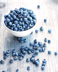 Blueberries Images of main ingredients for café website