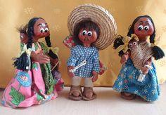 poupées du Mexique