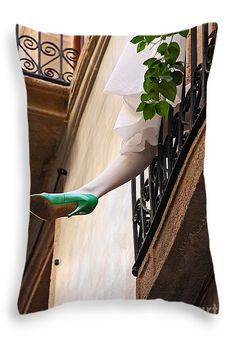 """""""barcelona hangover"""" pillow - by Meleah Fotografie (FAA watermark will not appear on pillow!)"""