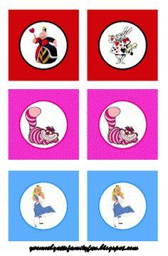 Alice in Wonderland Party Printables Free | yvonnebyattsfamilyfun