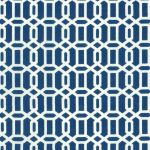 Tropix Outdoor Fabric- Fawle Fresco Indigo