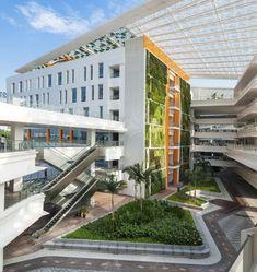 Institute of Technical Education, Singapore. Landscape architecture by landscape architects Grant Associates.
