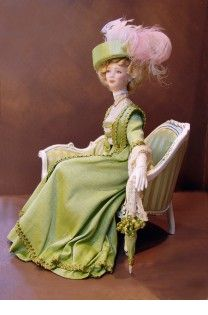 Lavinia, dreaming of paris: Downton Abbey doll house dolls!!