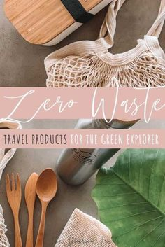 Looking for the newest and best Zero Waste products on the market? Are you aiming for a greener, plastic free life or want to make your home as environmentally friendly as possible? This eco shopping guide has tips and ideas on what to buy, where to buy i Travel Essentials, Kitchen Essentials, Travel Tips, Travel Hacks, Budget Travel, Travel Destinations, Sustainable Tourism, Sustainable Living, Sustainable Products