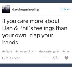 I find it kinda funny that so many agressive Phan shippers are also repinning this