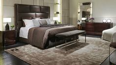 Exquisite bedroom furniture designs from Fendi Casa Collection ➤ To see more news about bedroom ideas visit us at www.bedroomideas.eu #bedroomideas #bedroomdesigns #bedroomdecor #interiordesign #fendicasa @bedroomideasb