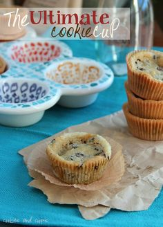 The Ultimate Cookie Cup made the peanut butter cups!