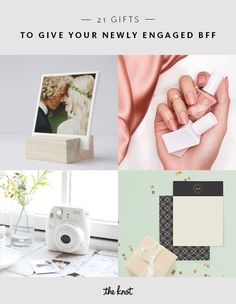 We made the ultimate list of gift ideas that your newly engaged BFF would love, from tongue-in-cheek humor to the sentimental and sweet.