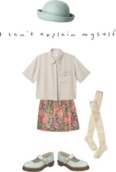 """""""because I'm not myself you see"""" by renachanxoxo on Polyvore"""