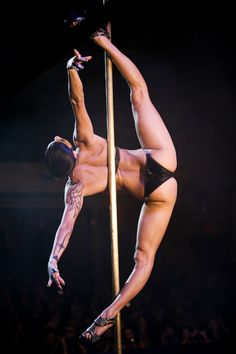 Felix Cane's Spatchcock, My favorite. She is pure strength, talent, and makes pole look effortlessly!!!