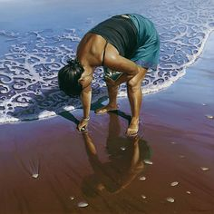 Barry Ross Smith - pipi picker love how he did swirls and curlicues in the foam