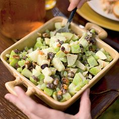 Need a last-minute addition to your tailgate menu? Choose the Waldorf Salad.