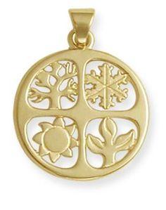 Four Seasons Pendant | James Avery