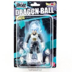 Dragon Ball Z Super Saiyan God Vegeta Shodo Action Figure BANDAI JAPAN ANIME