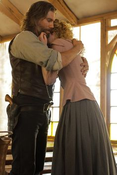 Bohannon and Ruth, Season 3. It came out of nowhere, but I ship it so hard!