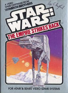 Parker Brothers 2600 game Star Wars: The Empire Strikes Back