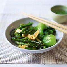 Veggie Stir-Fry with Bok Choy