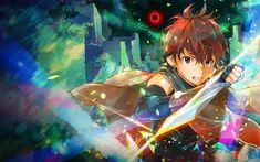 Hai to Gensou no Grimgar HD Wallpaper