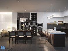 Thiết kế thi công nội thất nhà phố - Nội thất phòng bếp #thicongnoithat #thietkenoithat #thietkenhapho #interior #designer #homedecor #noithatdep #thietkebep #kitchen #townhousedesign