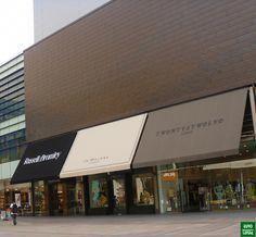 Shop Interior Design, Retail Design, Store Design, Retail Facade, Shop Facade, Facade Design, Exterior Design, Canvas Awnings, Canvas Canopy