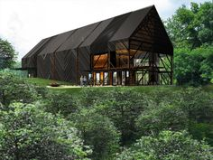 Wild Turkey Bourbon Visitor Center  #architecture #design #kentucky