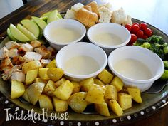 Twiddler House: {Recipe} Havarti Fondue