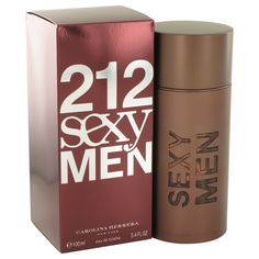 212 Sexy Eau De Toilette Spray By Carolina Herrera 212 Sexy Cologne by Carolina Herrera, Launched in 2004 this is another great addition to the collection. It's a very seductive scent with top notes. Perfume Carolina Herrera, Carolina Herrera Men, Cologne, Perfume 212, Perfume Fragrance, Mens Perfume, 212 Man, Parfum Spray, Bath And Body