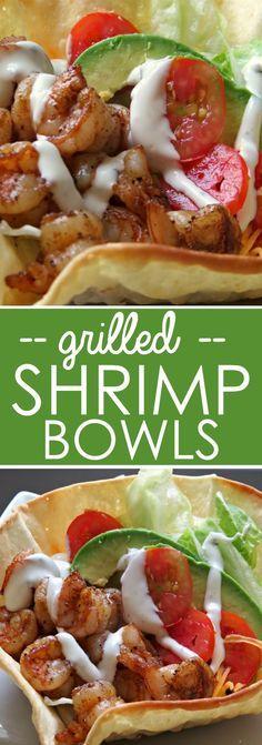 shrimp | grilled | taco bowl