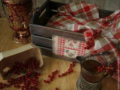 Ящик для хранения Смородиновый чай. Декупаж – заказать на Ярмарке Мастеров – 9YPC5RU   Банки, Химки Christmas Decoupage, Gift Wrapping, Gifts, Gift Wrapping Paper, Presents, Wrapping Gifts, Favors, Gift Packaging, Gift