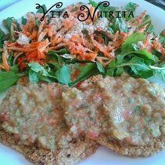 Hamburguesas de quinoa, avena y sésamo