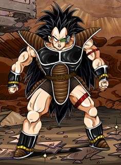 Dragonball Z - Raditz by TimothyJamesF on DeviantArt