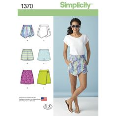 Find a pattern for Misses' Shorts, Skort and Skirt at Simplicity, plus many more unique patterns. Visit today!