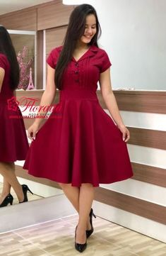 Cute Short Dresses, Stylish Dresses For Girls, Stylish Dress Designs, Frocks For Girls, Elegant Dresses, Beautiful Dresses, Casual Dresses, Girls Dresses, Frock For Teens