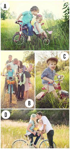 Spring Family Photo Ideas