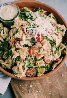 𝓟𝓲𝓷𝓽𝓮𝓻𝓮𝓼𝓽⤘𝓵𝓾𝓿_𝓜 - yum, salad, eat, food, health Think Food, I Love Food, Good Food, Yummy Food, Tasty, Vegetarian Recipes, Cooking Recipes, Healthy Recipes, Lunch Recipes