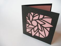 Pretty laser cut cards