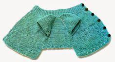 tejidos artesanales en crochet: un abrigo para mascotas con estilo tejido en crochet