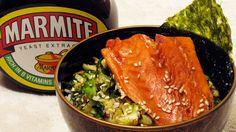 U.K.-Chazuke    Marmite shares many qualities with soy sauce, and according to writer Maggie Hall, author of The Mish-Mash Dictionary of Marmite, it has been declared a source of instant umami by Tokyo's Umami Information Center. So why not adapt Japanese ochazuke — tea-soaked rice with toppings — to the British ingredient?