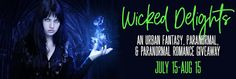 Paranormal Author Catherine Green: Wicked Delights Book Giveaway #Freebooks Paranormal Romance, Romance Novels, Female Vampire, Vampire Hunter, Return To Work, Werewolf, New Books, Lust