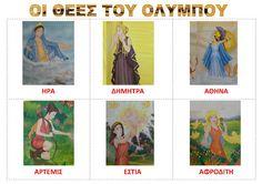 dreamskindergarten Το νηπιαγωγείο που ονειρεύομαι !: Οι 12 Θεοί του Ολύμπου στο νηπιαγωγείο